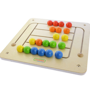 Color Matching Pegs Board