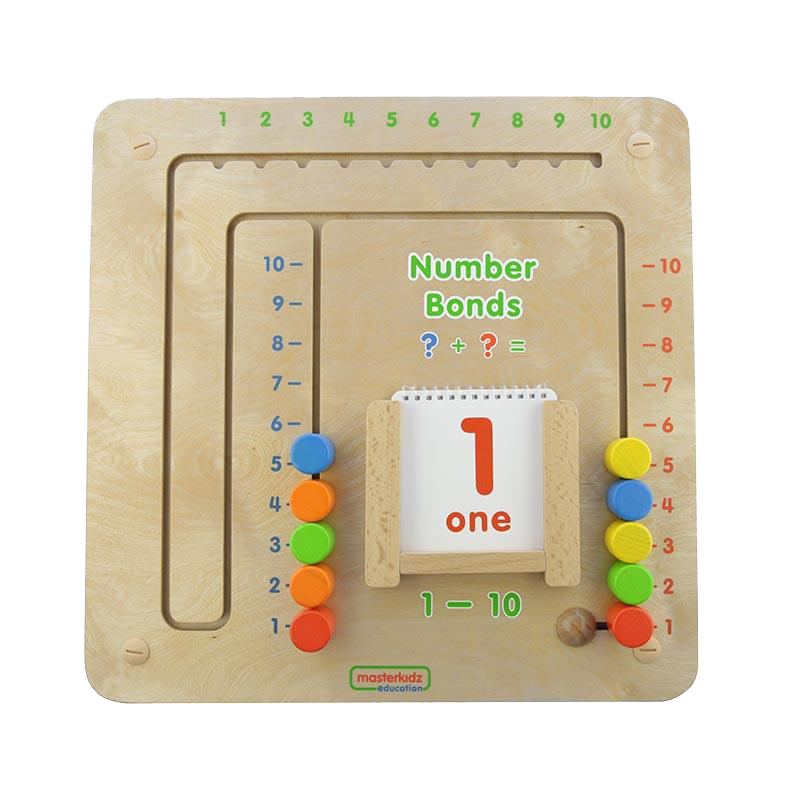 Wall Elements - Numbers Bond (1-10) Game Board
