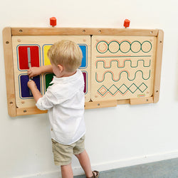 Wall Elements - Manual Dexterity Board II