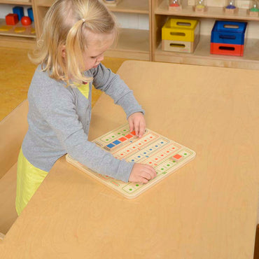 1-10 Number Bonds Learning Board