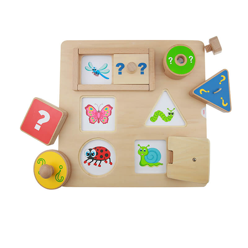 Curiosity Driven Fine Motor Skills Training Board