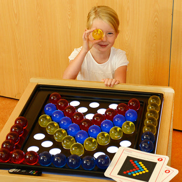 3 Colour Translucent Acrylic Balls 48 Piece Set