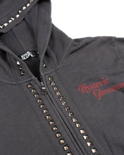 Load image into Gallery viewer, Hysteric Glamour Studded Zip Hoodie