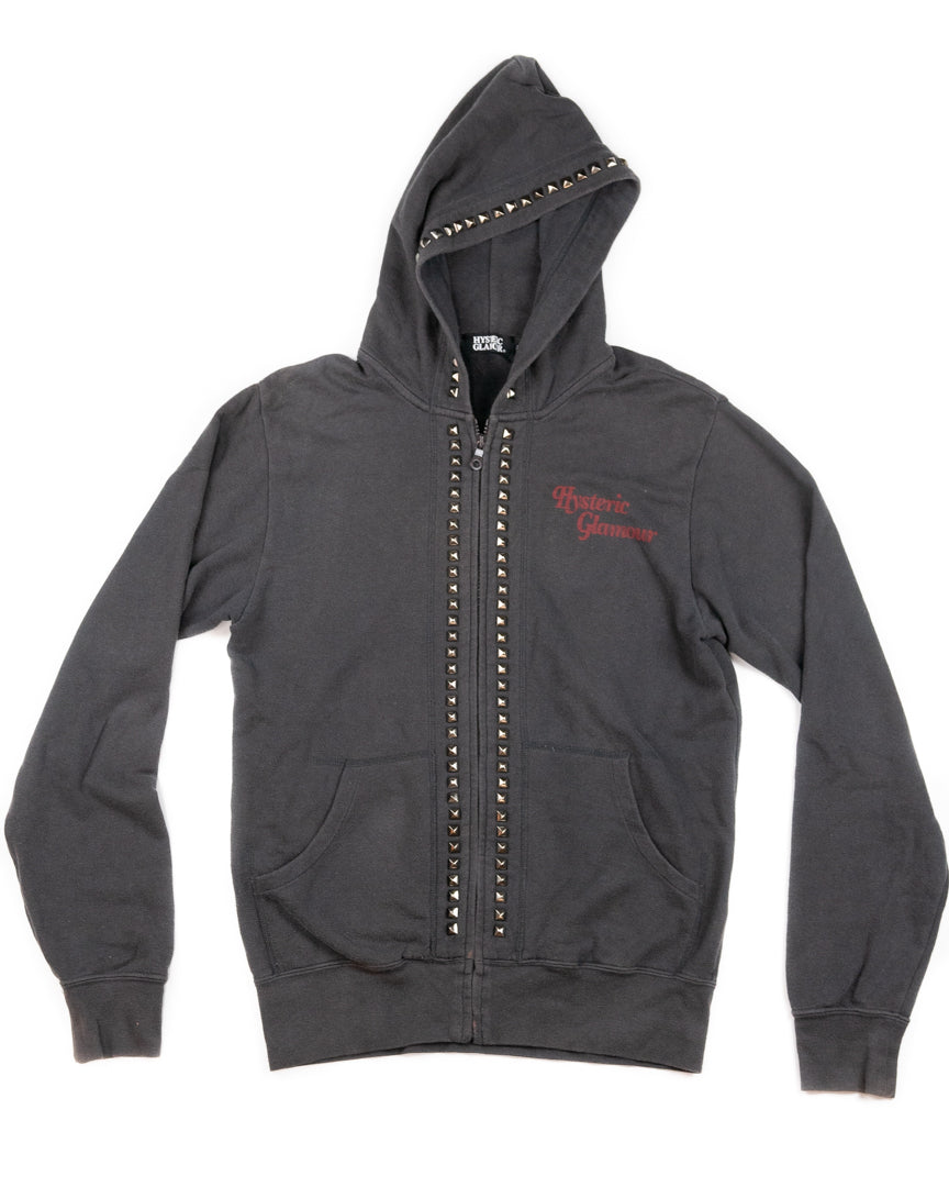 Hysteric Glamour Studded Zip Hoodie