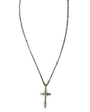 Load image into Gallery viewer, Number (N)ine Cross Necklace