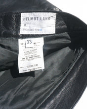 Load image into Gallery viewer, 1998 Helmut Lang Leather Pants