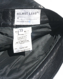 1998 Helmut Lang Leather Pants