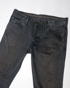 Number (N)ine SS07 Mudwash Denim