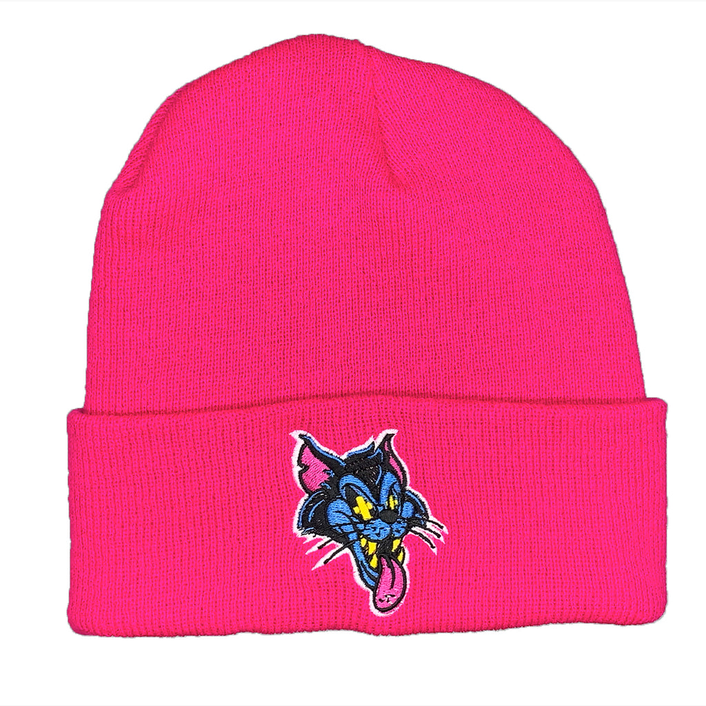 Cat Face Classic Hot Pink