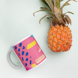 Abstract Art Mug-Contemporary Fashion-Sustainable Fashion-Ethical Designer-Contemporaryfashion.com