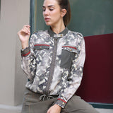 Camo Print Viscose Bomber Jacket-Contemporary Fashion-Sustainable Fashion-Ethical Designer-Contemporaryfashion.com