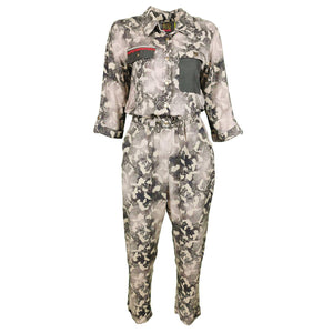 Camo Print Viscose Jumpsuit-Contemporary Fashion-Sustainable Fashion-Ethical Designer-Contemporaryfashion.com