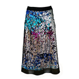 Double-Sided Sequin-Embellished A-Line Midi Skirt-Contemporary Fashion-Sustainable Fashion-Ethical Designer-Contemporaryfashion.com