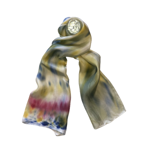 Flamboyant Friday Scarf-Contemporary Fashion-Sustainable Fashion-Ethical Designer-Contemporaryfashion.com