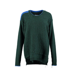 Gilston Cashmere Jumper – Green-Contemporary Fashion-Sustainable Fashion-Ethical Designer-Contemporaryfashion.com
