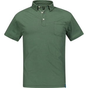 Green DAIQUIRI Organic Cotton Polo-Contemporary Fashion-Sustainable Fashion-Ethical Designer-Contemporaryfashion.com