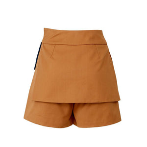 Ladies' Apron Dress Shorts-Contemporary Fashion-Sustainable Fashion-Ethical Designer-Contemporaryfashion.com