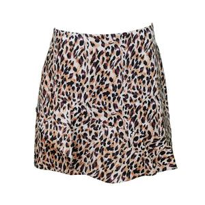 Leopard Print Mini Skirt-Contemporary Fashion-Sustainable Fashion-Ethical Designer-Contemporaryfashion.com