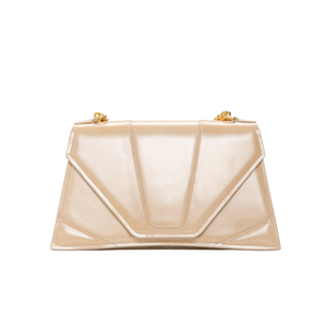 LUXEAL Clutch // Honey Begie-Contemporary Fashion-Sustainable Fashion-Ethical Designer-Contemporaryfashion.com