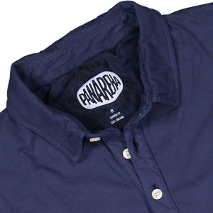 Navy DAIQUIRI Organic Cotton Polo-Contemporary Fashion-Sustainable Fashion-Ethical Designer-Contemporaryfashion.com
