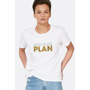 Non-plan plan, Graphic Tee-Contemporary Fashion-Sustainable Fashion-Ethical Designer-Contemporaryfashion.com