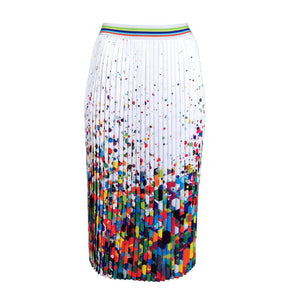 Splash Of Color Pleated Midi Skirt-Contemporary Fashion-Sustainable Fashion-Ethical Designer-Contemporaryfashion.com