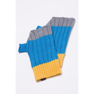 The Sherwood Woollen Mittens - Blue-Contemporary Fashion-Sustainable Fashion-Ethical Designer-Contemporaryfashion.com