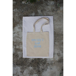 TOTE BAG PROTECT OUR HOME-Contemporary Fashion-Sustainable Fashion-Ethical Designer-Contemporaryfashion.com