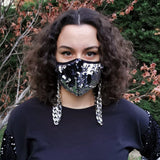 Triple Layer Sequined Face Mask With A Detachable Mask Strap Pack Of 2-Contemporary Fashion-Sustainable Fashion-Ethical Designer-Contemporaryfashion.com