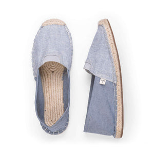 Vegan Caesious Blue ExtraFit Espadrilles for Women-Contemporary Fashion-Sustainable Fashion-Ethical Designer-Contemporaryfashion.com