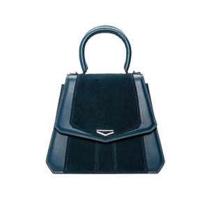 VERUS Handbag / Prussian Blue-Contemporary Fashion-Sustainable Fashion-Ethical Designer-Contemporaryfashion.com