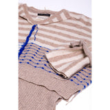 Walton Plus Cashmere Jumper – Beige-Contemporary Fashion-Sustainable Fashion-Ethical Designer-Contemporaryfashion.com