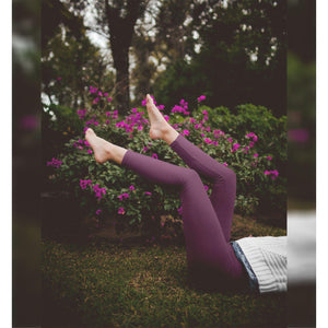 Yoga Leggings in Purple Ombré-Contemporary Fashion-Sustainable Fashion-Ethical Designer-Contemporaryfashion.com