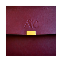 Load image into Gallery viewer, AxC Structured Oxblood Handbag