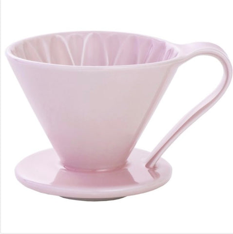 CAFEC Flower Dripper CFD-4 PINK Cup4 (for 2~4 cups)