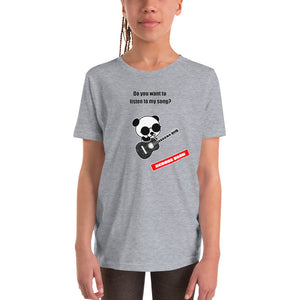 "XCROSS DASH 2020 GUITAR PANDA ver. ""Youth Short Sleeve T-Shirt"""