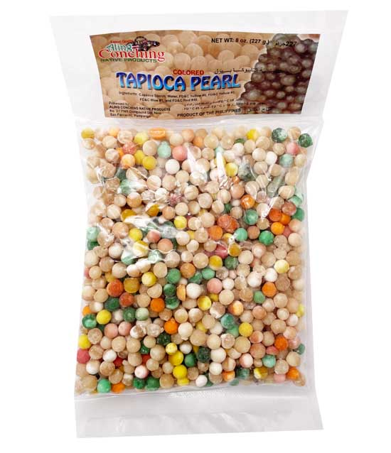 Aling Conching Colored Tapioca Pearls (Sago) - Big 8oz