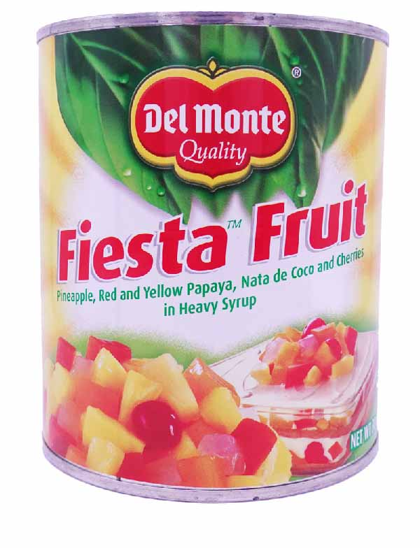 Del Monte Fiesta Fruit Cocktail in Heavy Syrup 30 Oz.