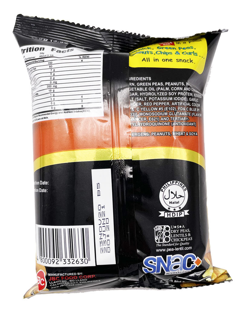 Ding Dong Snack Mix Sweet and Spicy with Chips and Curls 3.53oz