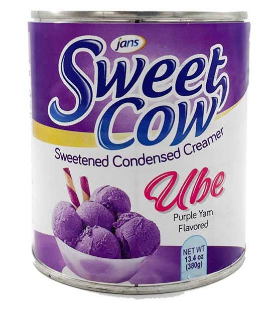 Jans Sweet Cow Ube Condensed Milk 380g