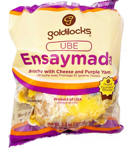 Goldilocks Ube Ensaymada 5.3oz