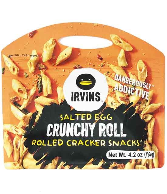 Irvins Salted Egg Crunchy Roll 4.2oz