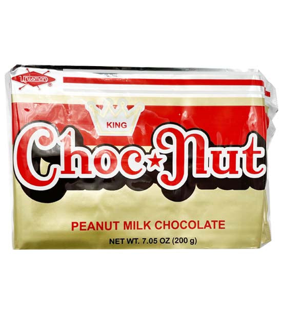 King Choc Nut Peanut Milk Chocolate 7oz