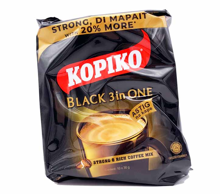 Kopiko 3-in-1 Astig Black Coffee