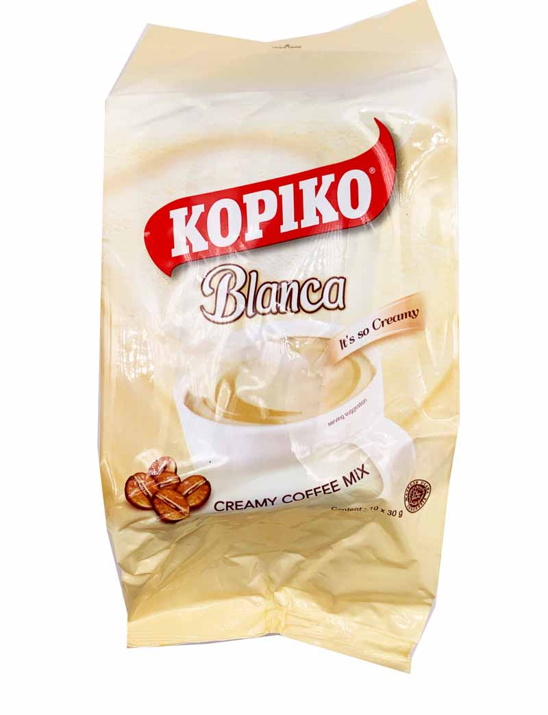 Kopiko Blanca Creamy Coffee Mix 10 Pack