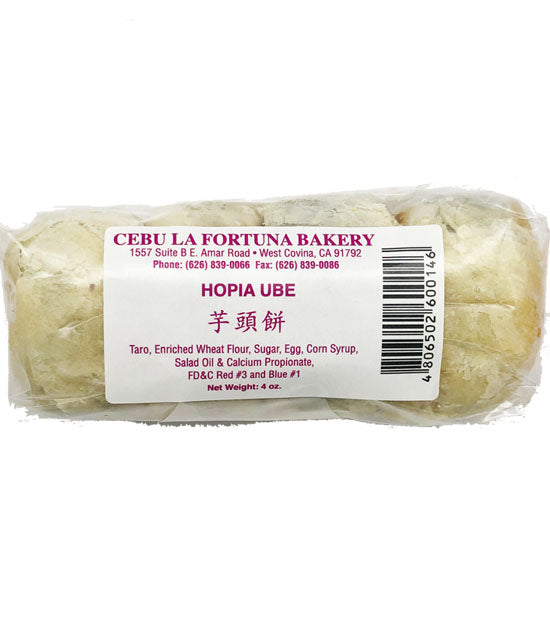 Cebu La Fortuna Hopia Ube 4 Piece 4oz