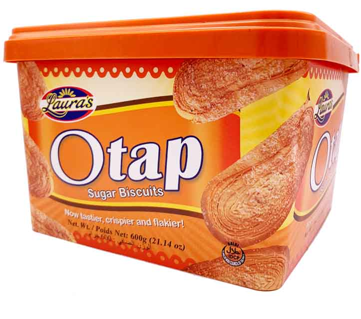 Laura's Otap Sugar Biscuits Tub