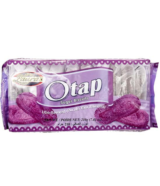 Laura's Otap Sugar Biscuits Ube 7.41oz