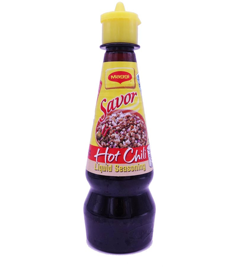 Maggi Savor Liquid Seasoning Hot Chili 130ml