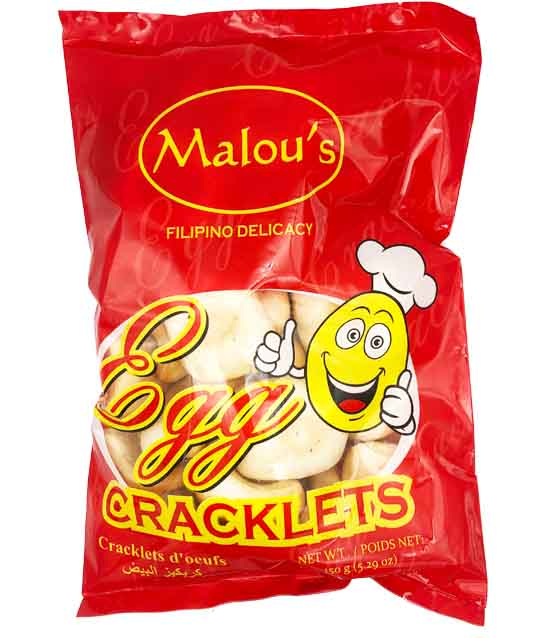 Malou's Egg Cracklets 5.29oz